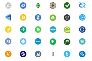 Tổng hợp Cryptocurrency Icon